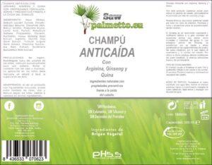 Shampoo anti-gota PH 5.5