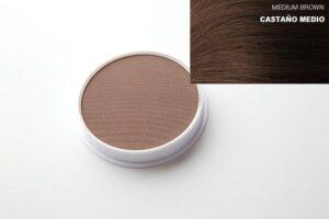 Castanha média de maquiagem capilar
