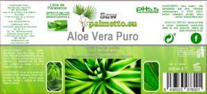 Aloe Vera Puro post trasplante capilar