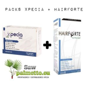 Pack Xpecia Tablet + Hairforte
