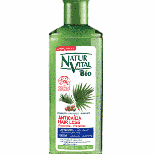 Champú BIO Ecocert anti­caida con saw palmetto 300 ml
